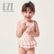 July sand/ г.; детский купальник для девочек с длинными рукавами и цветными блоками; Топ и штаны; 18G007