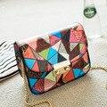 2016 горячая зима новый хит цвет цепь сумка, мода стиль одноместный сумки на ремне, лучший подарок сумка Мини женский тенденции моды
