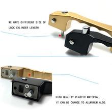 1 шт. дверь окно ручка велосипедный алюминиевый замок Pull Handle Блокировка кнопок дропшиппинг