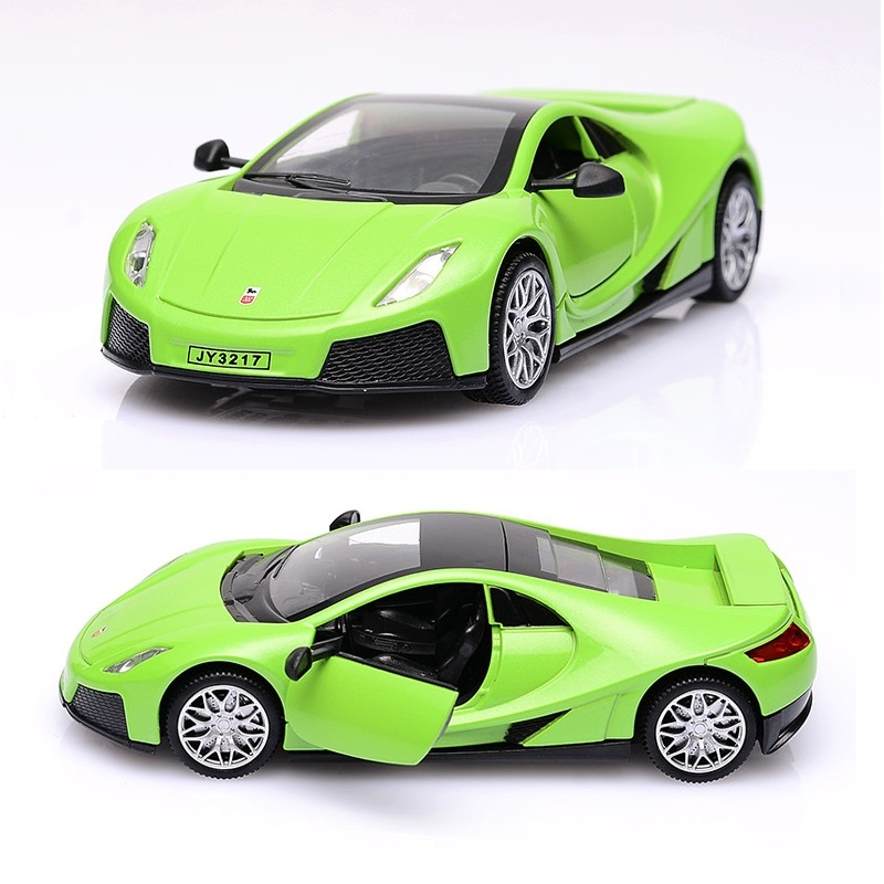 KD Sport Car 1/32 Die Cast Vehicle Excellent Car Collection&Toy Car 15Cm Return Power W/ ...