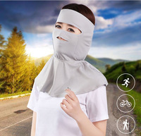 360 Degrees Wrap Carves Head Neck Face Driving Masks Anti Uv Riding Breathe Freely Thin Dustproof Sunshade Mask Outdoor Girl