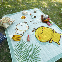 Baby Toy Storage Bag Colorful Children Playing Blanket Kid's Toy Organizer Kawaii Travel Outdoor Water Proof Picnic Carpet