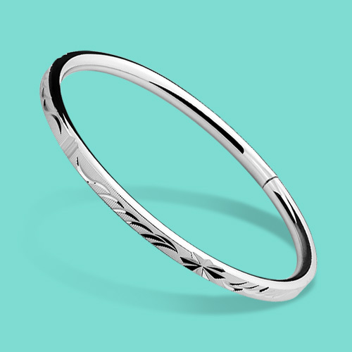 lady 925 sterling silver bracelet,ethnic Carved decorative pattern design,concise style woman Solid silver bracelet jewelry