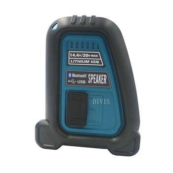 18V 6.0AH bateria de li-ion CordlessBluetooth Alto-falante no local de trabalho para Makita dewalt Milwaukee Bosch 14.4v 18V 20V Bateria bl1860 1