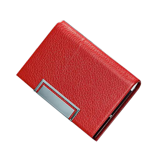 Fashion luxury brand metal black stainless steel business card fashion luxury brand metal black stainless steel business card holder box case wallets holders business reheart Image collections