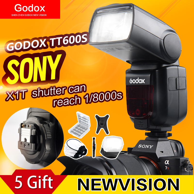 Prix pour Godox TT600S GN60 2.4G Caméra Flash Speedlite pour Sony a7II/a7/a7r/a7s/A6000