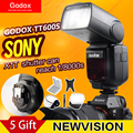 Godox tt600s gn60 2.4g cámara speedlite de destello para sony a7ii/a7 a7r/a7s/a6000