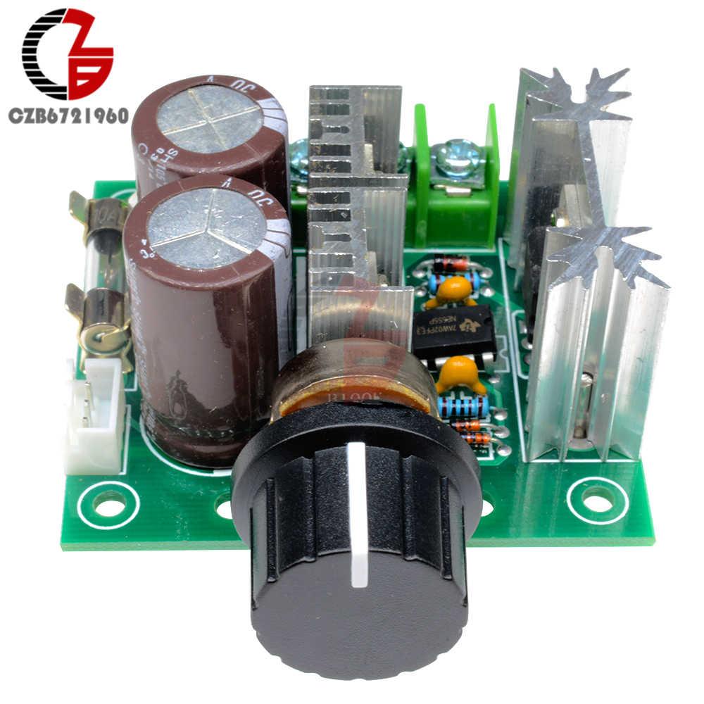 400 Вт 10А Регулятор скорости двигателя 12 В постоянного тока Регулируемый ШИМ регулятор скорости двигателя постоянного тока регулятор скорости с высоким крутящим моментом регулятор скорости
