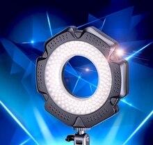 10W mini Ring LED flash Light for Canon for DSLR Nikon Canon micro lens SLR photography camera fill light photoflash