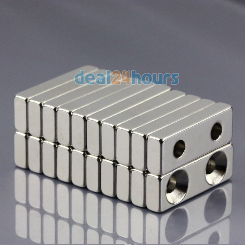 5pcs Strong Big Block Cuboid Magnets 30 x 30 x 10mm Rare Earth Neodymium N50