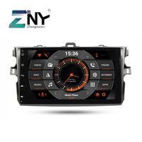 9 ips в тире 2 Din Android 9,0 автомобильный стерео gps для Защитные чехлы для сидений, сшитые специально для Toyota Corolla 2007 2008 2009 2010 2011 авто радио FM Wi Fi нави