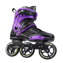 Original RS6 Inline Speed Skates Professional Adult Kids Roller Skating Shoes 3*110mm Wheels Size 35-46 Free Skating Patins