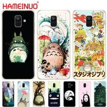 HAMEINUO Мой сосед Тоторо аниме чехол для телефона для samsung Galaxy J4 J6 J8 A9 A7 A6 A8 PLUS j7 duo защитный чехол