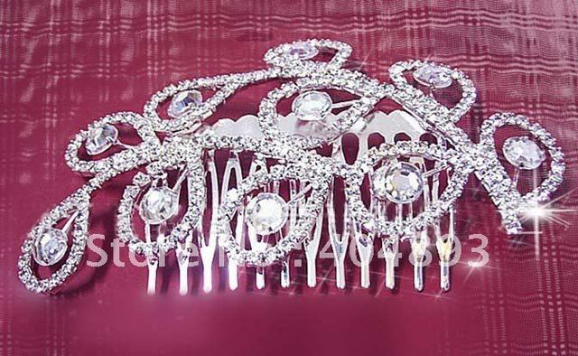 crown hairwear wedding jewelry for bridal fashion crystal hairwear