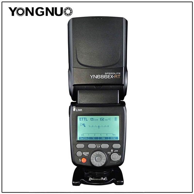 YONGNUO YN686EX-RT Batterie Au Lithium Flash Sans Fil Esclave Flash Speedlite avec Optique Maître TTL HSS pour APPAREIL PHOTO REFLEX NUMÉRIQUE Canon