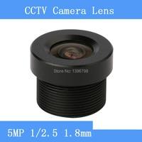 Surveillance Camera Mini HD 5MP Lenses 1 2 5 1 8mm Fixed Iris Fixed Lens M12