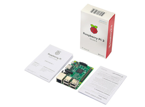 2017 New Raspberry Pi 3 Model B Board 1GB LPDDR2 BCM2837 Quad-Core Ras PI3 B,PI 3B,PI 3 B with WiFi&Bluetooth