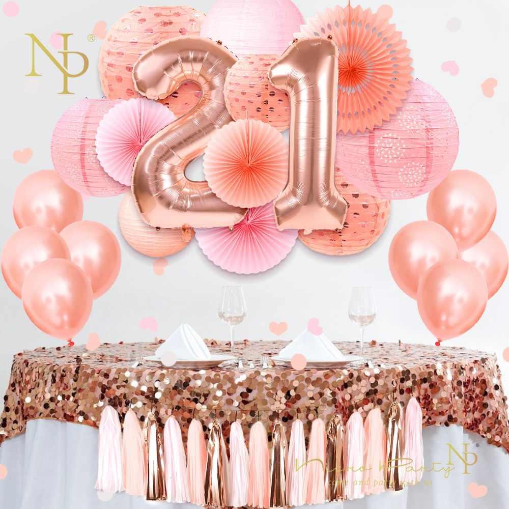 Wonderbaar Nicro Sweet 16 18 21th Happy Birthday Party Decoration 37 pcs/set UL-02
