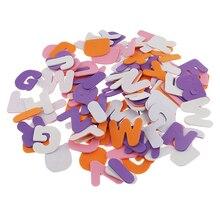 150 шт. A-Z буквы алфавита самоклеющиеся поролоновые наклейки для скрапбукинга ремесла