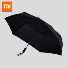 Xiaomi WD1 портативный трехслойный автоматический зонт от солнца прочный одной кнопкой открытия и закрытия дождливые и солнечные зонтики#3