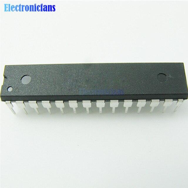 10 قطعة الأصلي ATMEGA328 ATMEGA328p ATMEGA328P PU DIP 28 متحكم IC رقاقة لاردوينو UNO R3