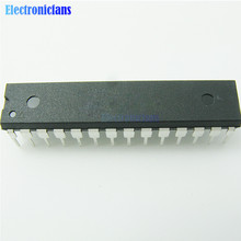 10 pièces dorigine ATMEGA328 ATMEGA328p ATMEGA328P PU DIP 28 microcontrôleur IC puce pour ARDUINO UNO R3