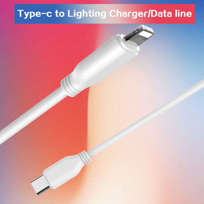 PD Data Line Type C USB Cable Fast Charging Cables Braided Charger Cable
