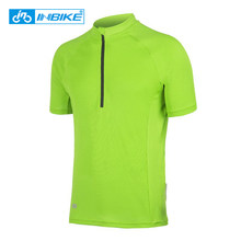 INBIKE Men Cycling Base Layers Bicycle Short Sleeve Shirt Highly Breathable  Underwear Bike Cool Mesh Jersey d748c30ac
