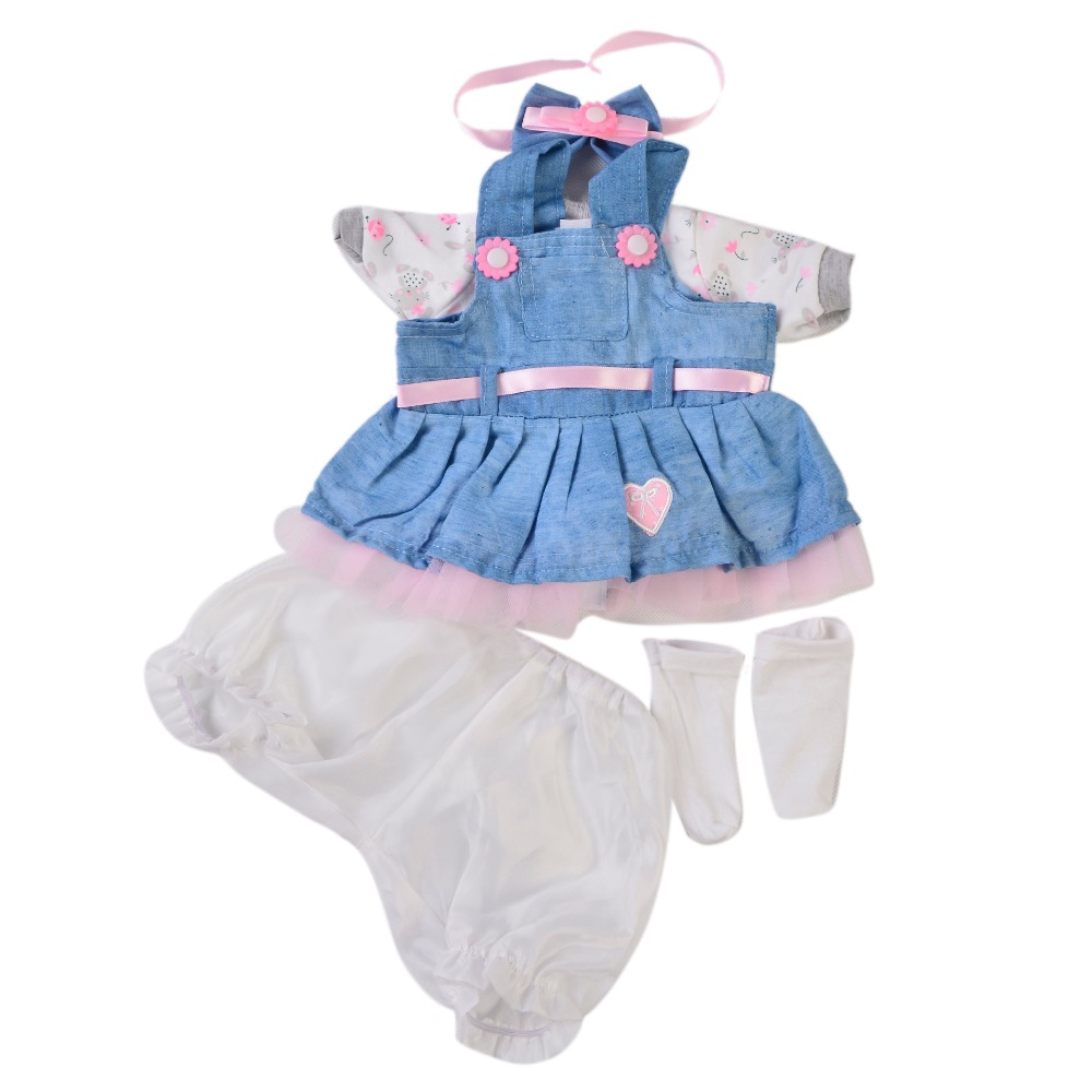 Suit for 16/'/' Reborn Baby Dolls Girl Boy Clothing Outfit Clothes