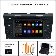 Android 7 1 Quad Core CAR DVD Player for MAZDA 3 2004 2009 GPS CAR font