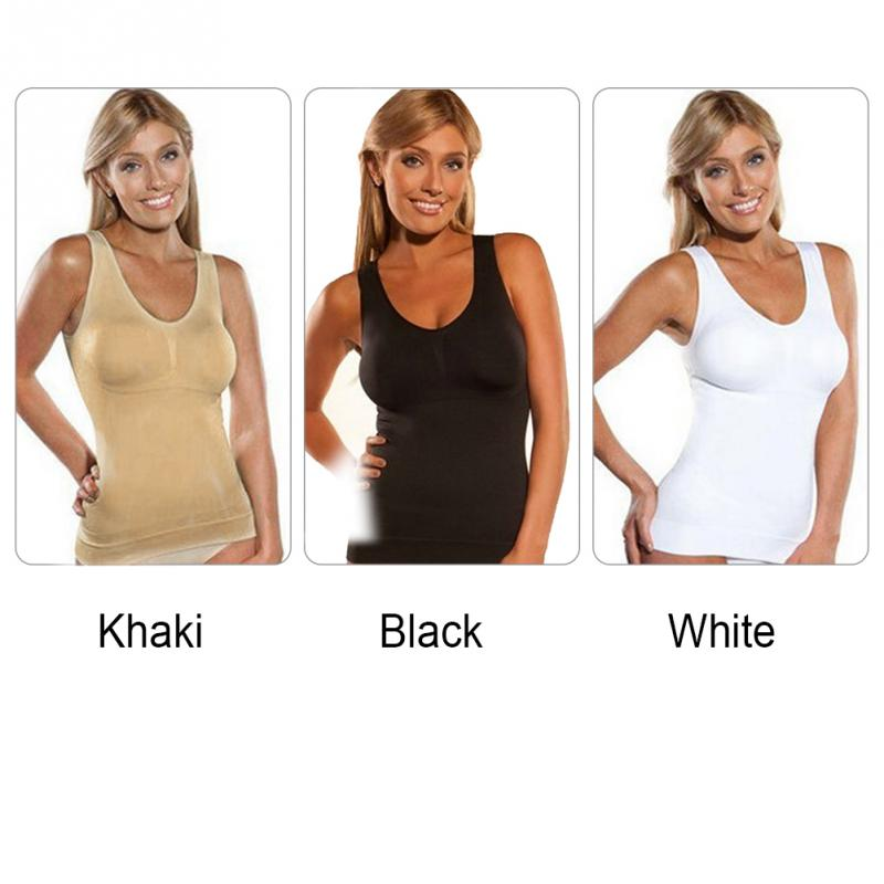 437f2788828 Shaper Slim Up Lift Plus Size Bra Cami Tank Top Women Body Shaper ...