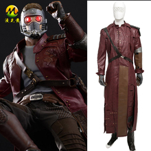 New Guardians of the Galaxy Star-Lord Cosplay Costume For Adult Men Halloween Party Costumes Full Outfill