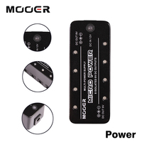 Mooer Micro Power Output Maximum Current 300mA Single Guitar Effect Pedal Power Supply With 8 Ports