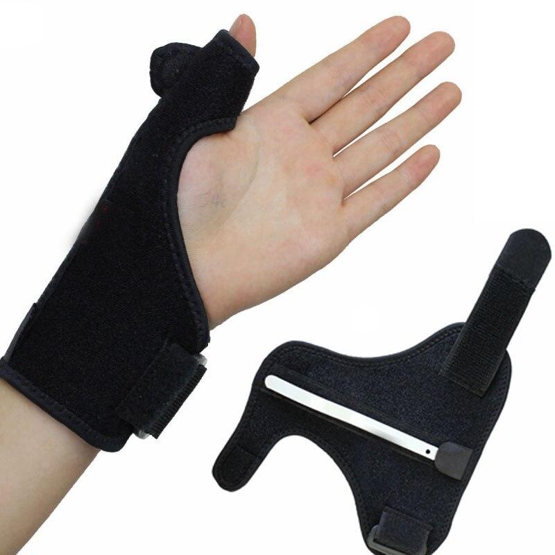スチールバーサポートスポーツ手首バンドsweatbandsジム包帯tainingバンド指プロテクターストラップジムアクセサリー