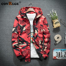 Covrlge New Spring Jacket Men Fashion Casual Mens Streetwear Bomber Hot Man Cool Coats MWJ139