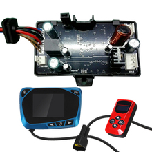 Universal 12V/24V LCD Monitor Switch Remote Control Circuit Board Controller Accessories For Car Track Diesels Air Heater 6110u genset controller ats lcd control auto start remote electronic lcd board diesel generator parts 8 languages monitor pannel