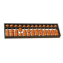Пластмассовый Abacus, 13 цифр, арифметический инструмент, детский математический обучающий инструмент, Обучающие игрушки, детская математическая обучающая помощь, Обучающие игрушки Brinquedo