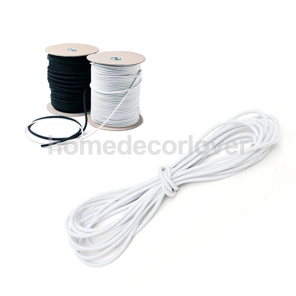 3 mm caoutchouc élastique Bungee Rope Shock Cord À faire soi-même 100 m 50 m 30 m 20 m 10 m 5 m 2 m 1 M 0.5 m