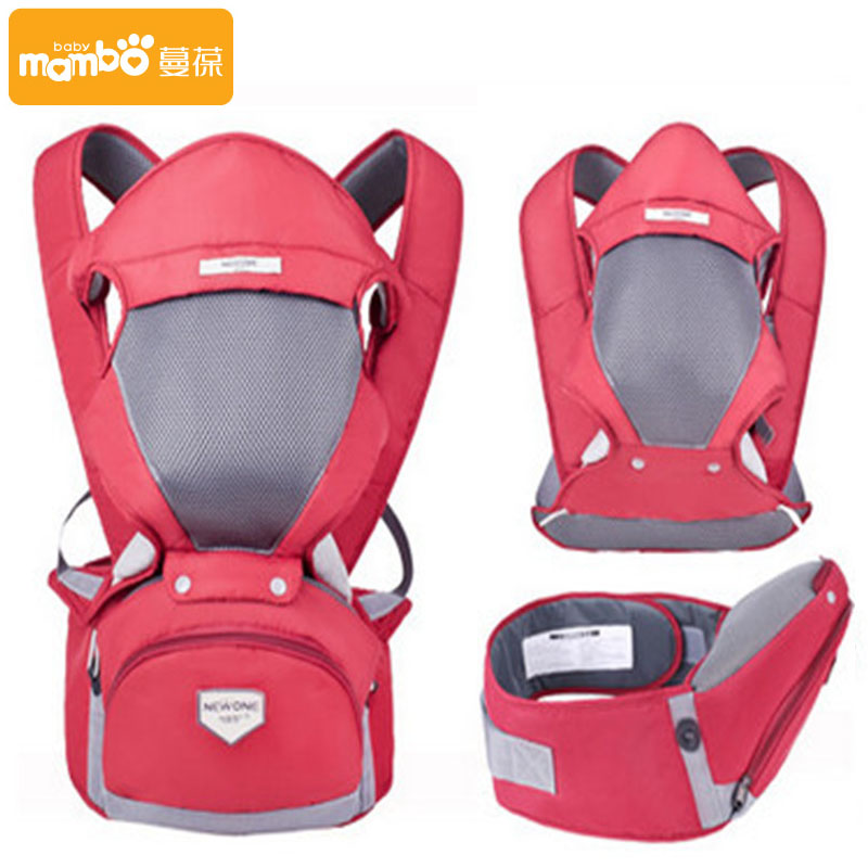 3 in 1 Baby Carrier Kid Hipseat With Belt Sling Breathable Ergonomic Backpack Kids Hip Seat
