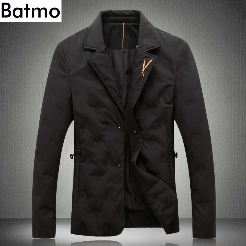 BATMO 2019 new arrival winter high quality 80 white duck down jackets men men s winter