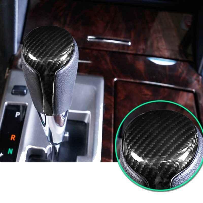 2019 Nouveau ABS Style Carbone Intérieur Pommeau Tête Couverture Garniture Pour Toyota Camry 2012-2017 Intérieur Pièces Engrenage manette de vitesse 1 pièces