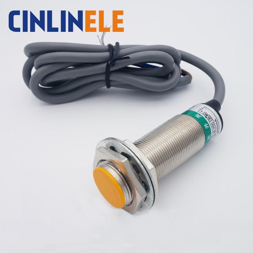 M24 LJ24A3-8-J/EDZ 8mm sensing AC 3 wire NO+NC prism shape inductive Screen shield type proximity switch LJ24A3 proximity sensor