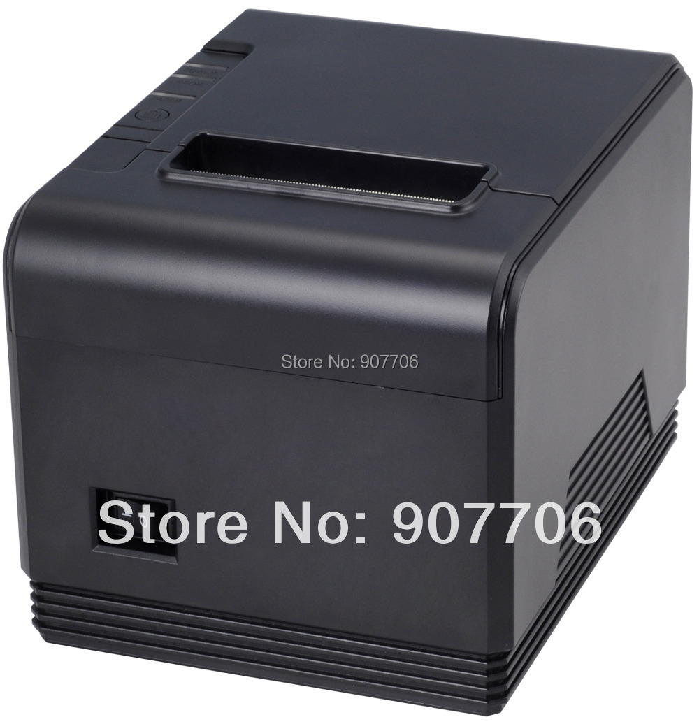 ФОТО point of sale thermal receipt printer XP-200 auto cutter interfaces LAN/Ethernet port print speed 200mm/s 80mm thermal printer
