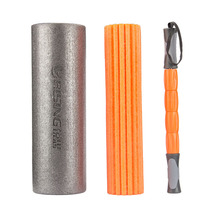 3 in 1 Multifunction Yoga Fitness Equipment PE Foam Stretch Roller Set Pilates Crossfit Massage Stick Exercise Muscle Relax
