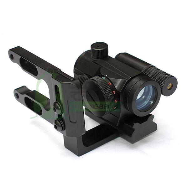 LX Archery Mini CNC Machined Bow Sight Mount Red Dot Laser Reflex Sight Scope Bracket Fit Mathews Bowtech Bear All Compund Bow