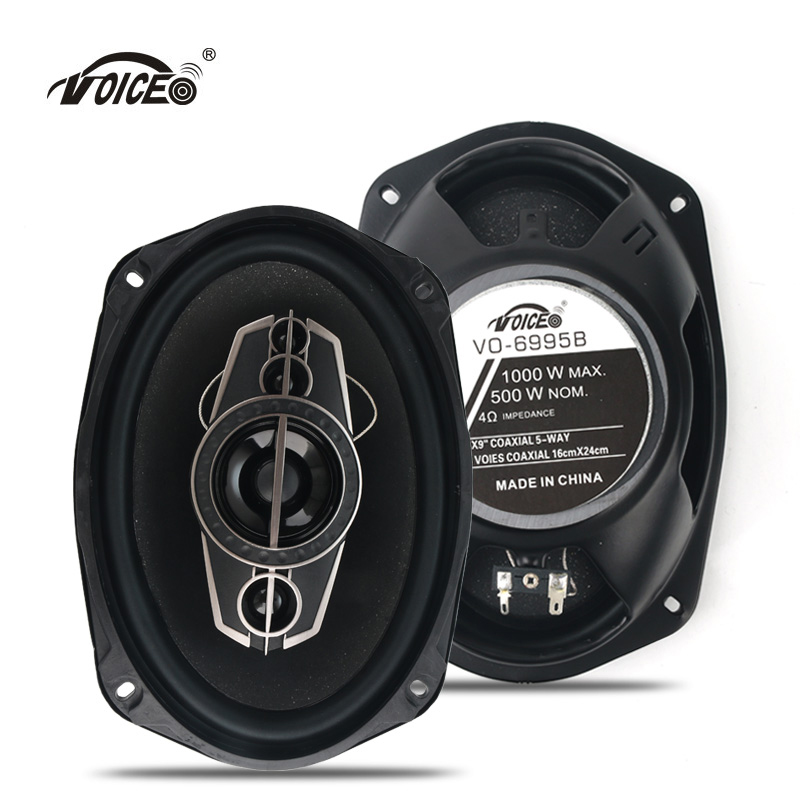 6 9 Auto Loudspeaker Paired Automobile Automotive Car HiFi Coaxial Speaker with Bass Tweeter Audio Music