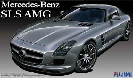 1/24 Mercedes-Benz SLS AMG Car Model 123921/24 Mercedes-Benz SLS AMG Car Model 12392