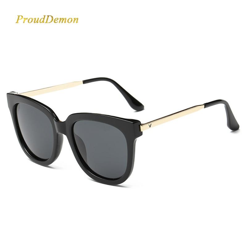 JAUNA luksusa sieviešu SunGlasses zvaigžņu stila modes dizainere Sieviešu karstie brilles Cat eye oculos feminino de sol uv400