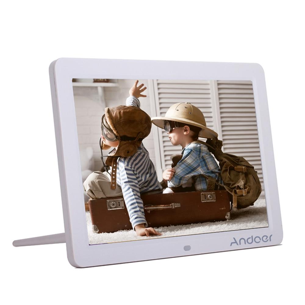 """Andoer 12"""" HD LED Electronic Digital Photo Frame 1280*800"""