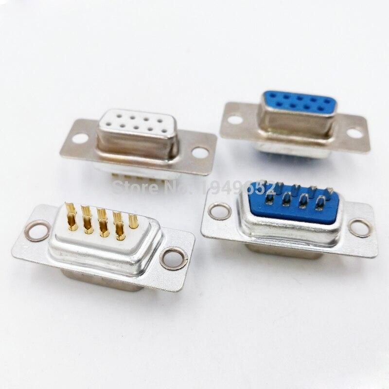 10PCS DB9 connector...